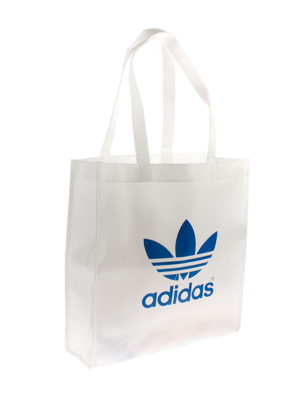 AC Trefoil Shop Bag white