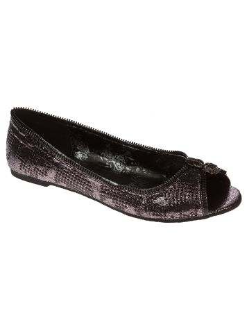 Iron Fist Ruff Rider Peep Toe Flat Women