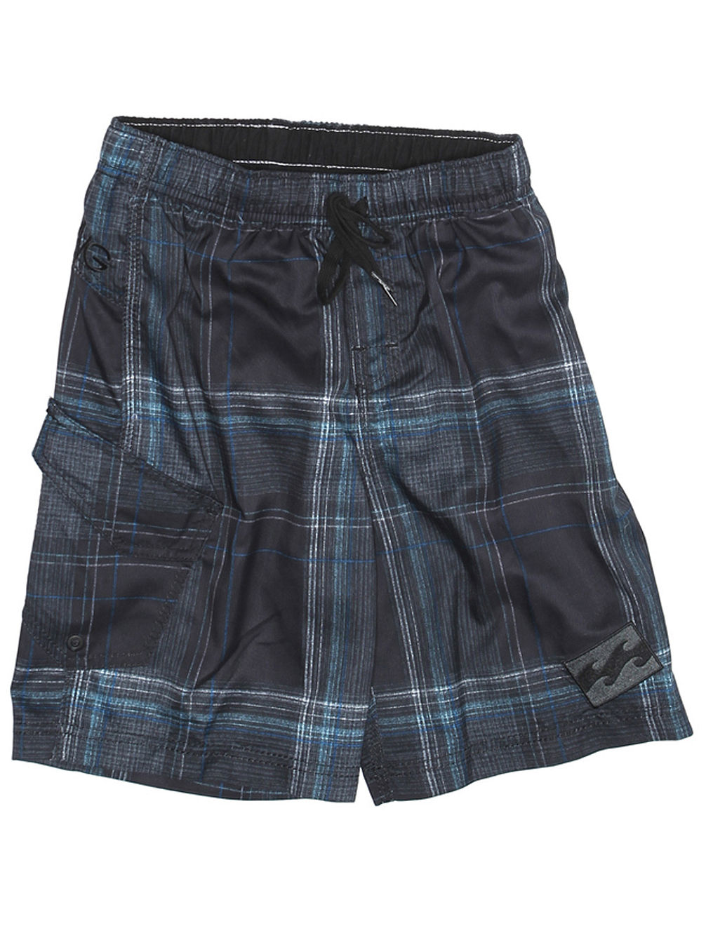 Ru Serius Check Boardshort Youth