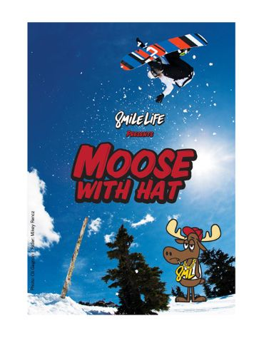 X-treme Moose With Hat