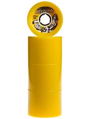 Race Formula 78A Yellow 72mm Wheels