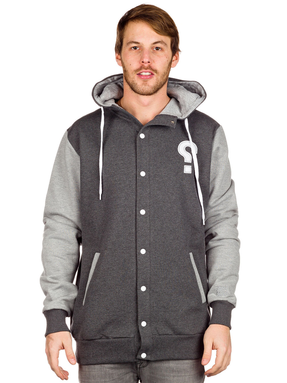 Baller Button-Up Zip Hoodie