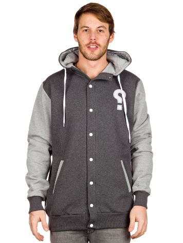 SWEET SKTBS Baller Button-Up Zip Hoodie