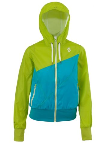 Scott Angle Zip Hood Women