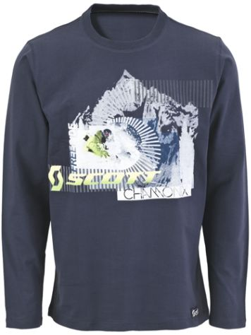 Scott Mountains T-Shirt LS