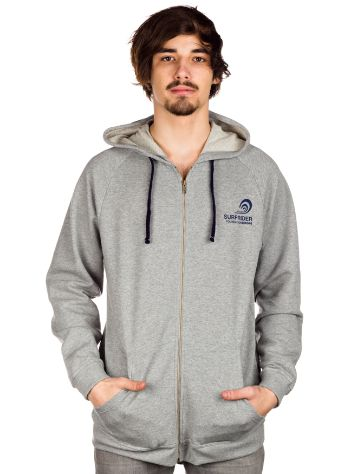Surfrider Foundation Europe Logo Zip Hoodie