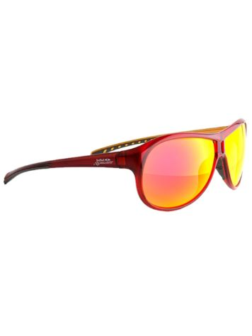 Red Bull Racing Eyewear TURI red/metallic sand/grey rubber