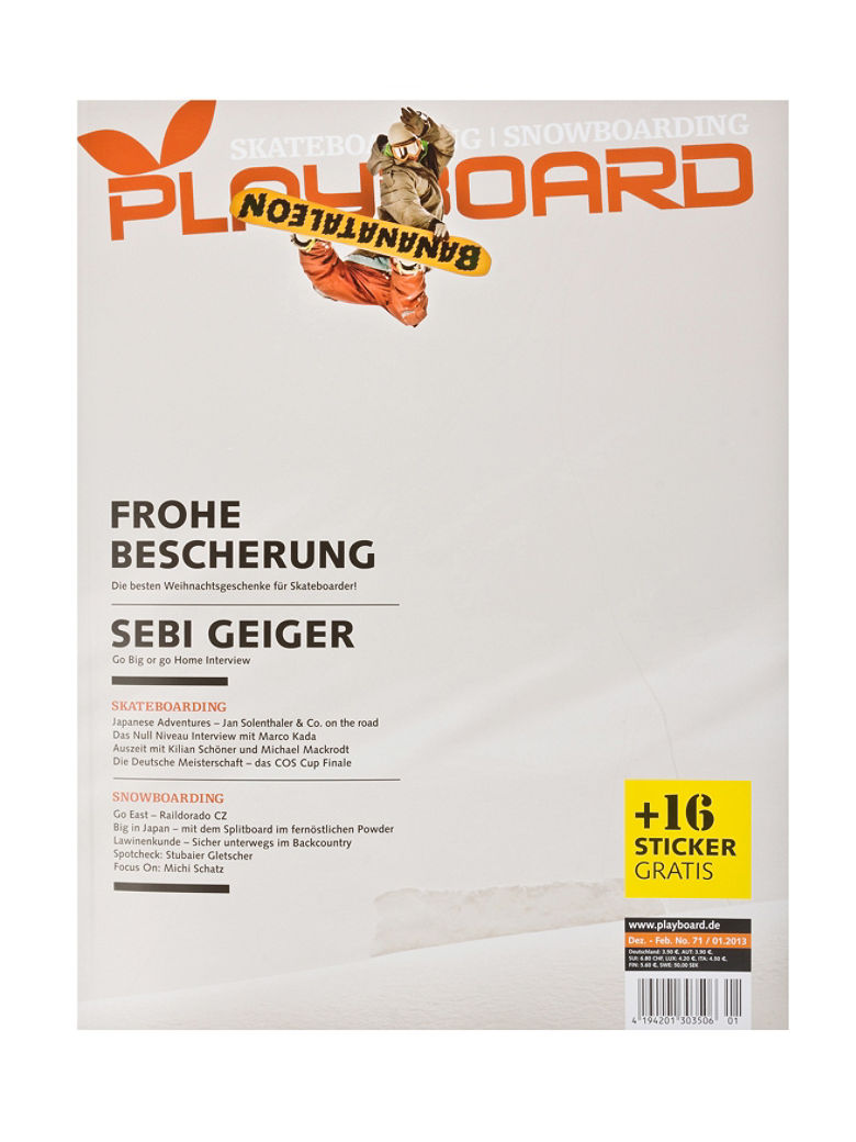Snow Magazin Playboard Playboard#71 vergr��ern