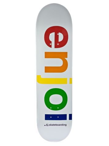 Enjoi Spectrum White R7 8.0