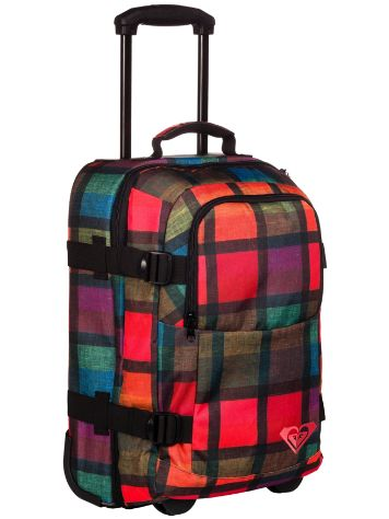 Roxy Roll With Me Plaid Travelbag