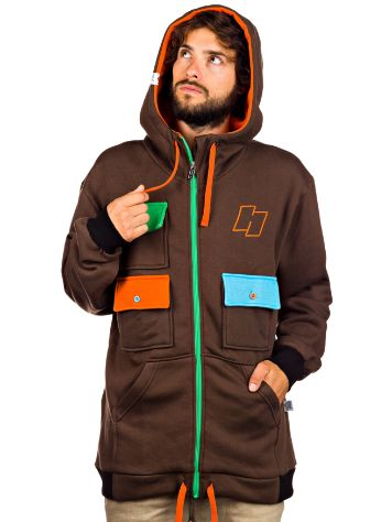 Häxa Chocolate Pop Zip Hoodie