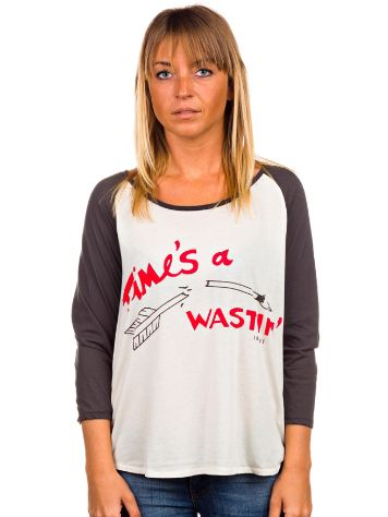 Insight Times a Wastin' Raglan T-Shirt LS