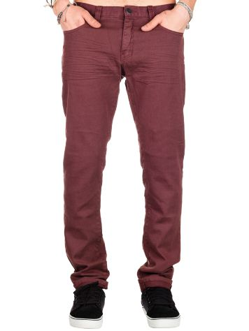 Billabong Slim Outsider Burgundy Jeans