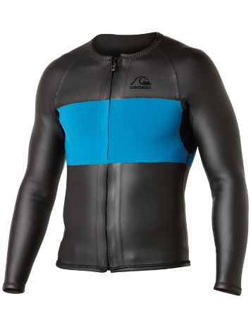 Quiksilver 2MM Front Zip Rash Guard LS