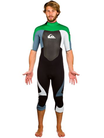 Quiksilver Syncro Wake Back Zip 3/2MM S/SL 3/4 Leg
