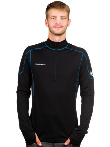 Mammut Go Warm Zip Tech T-Shirt LS