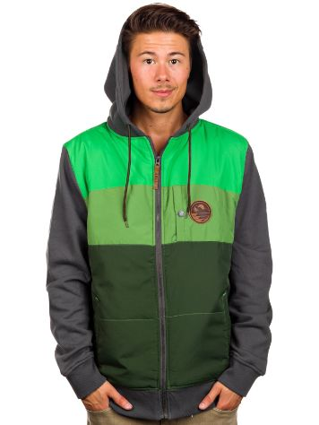 Hippy Tree Camper Full Zip Hoodie