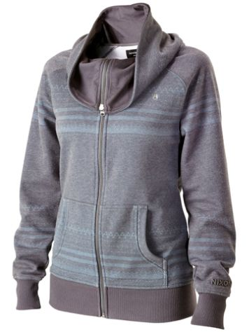 Nixon Blackhawk Zip Cowl Neck Sweater
