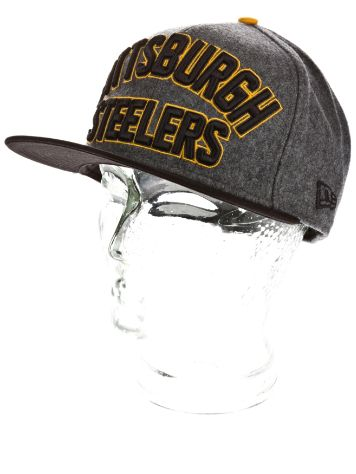 New Era Pittsburgh Steelers Emphasized Snap Cap