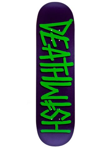 Deathwish Deathspray Metal Purple Green 8.25