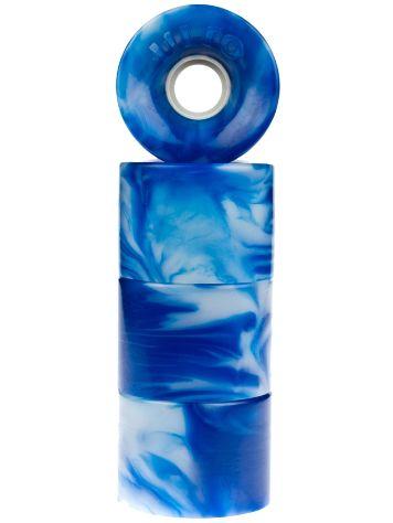 Hot Juice blue/white swirl 60mm