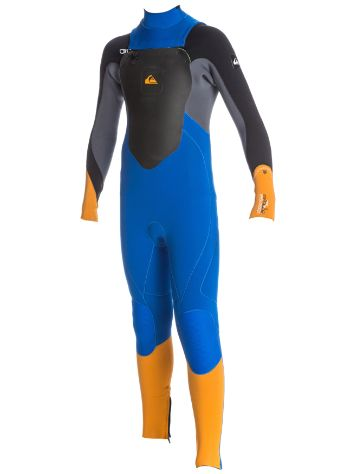 Quiksilver Syncro 4/3Mm Chest-Zip Fullsuit Boys
