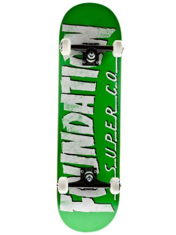 Trasher 8.5 Green Complete
