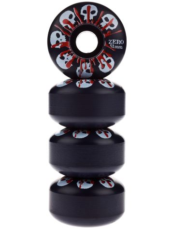 Skulls With Blood Black 51mm
