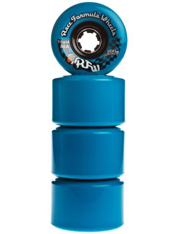 Race Formula 80A Blue 70mm Wheels
