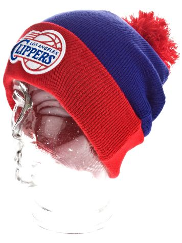 Mitchell & Ness NBA LA Clippers Secondary Cuff Knit Beanie