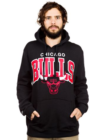 Mitchell & Ness NBA Chicago Bulls Team Arch Hoodie