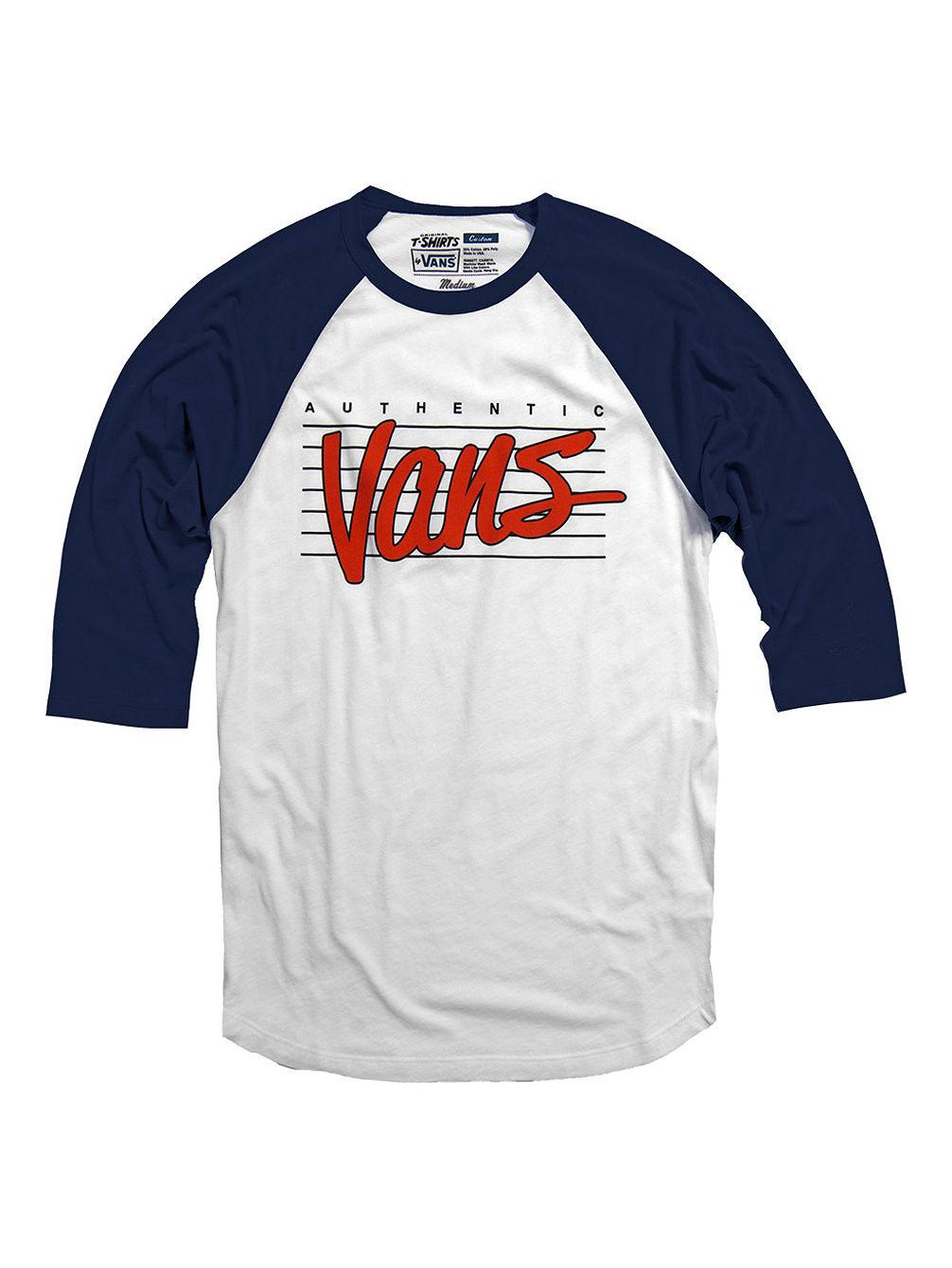 Buy Vans Authentic Vans Raglan T Shirt Ls Online At Blue