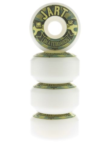 Jart Logo Camo 52Mm Wheels