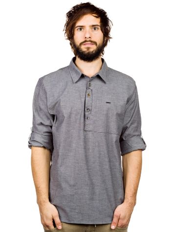 Oakley Icon 1/2 Placket Woven Shirt LS