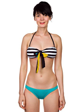 Volcom Reality Bites Bandeau + Simply Solid Full Bi