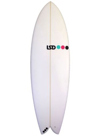 LSD Surfboards Flashback 6.0 XF Retro Quad