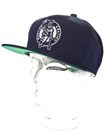 Mitchell & Ness Boston Celtics White Pop Canvas Cap