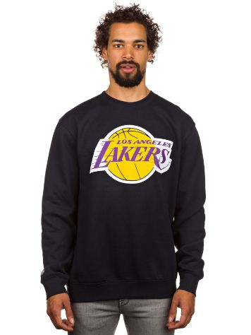 Mitchell & Ness Team Logo LA Lakers Crew Sweater