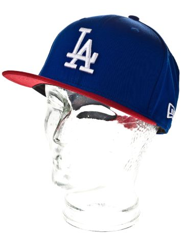 New Era LA Dodgers Cotton Block 5 Cap