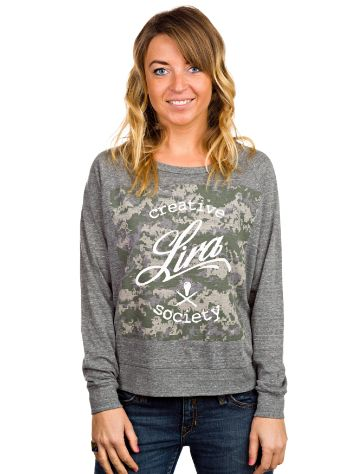 Lira Camo Box Sweater