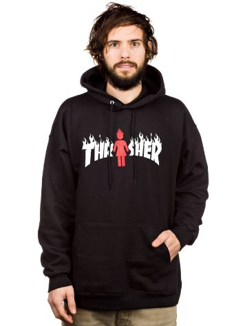 Thrasher Trasher x Girl On Fire Sweater