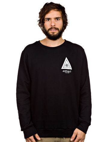 Asphalt Yacht Club Triangle Crewneck Fleece Sweater