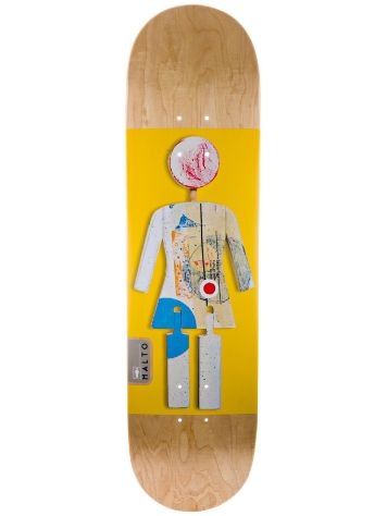 "Girl On Exhibit Malto 8.125"" Deck"