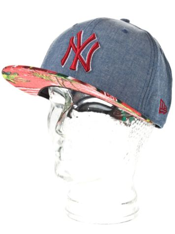 New Era NY Yankees Island Visor Cap