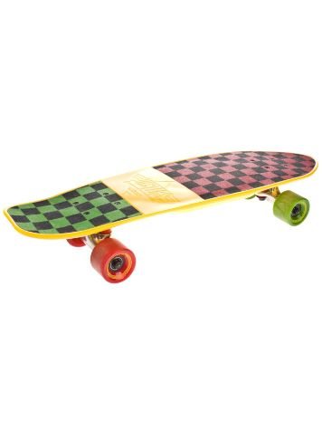 "Cliche Mighty Yellow/Rasta Checker 7.0"" x 25"" Compl"