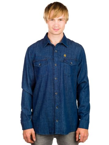 Volcom Vbj Denim Shirt LS