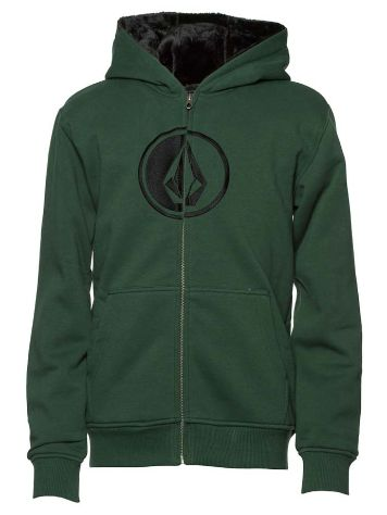 Volcom Circlestone Lined Fleece Zip Hoodie Boys