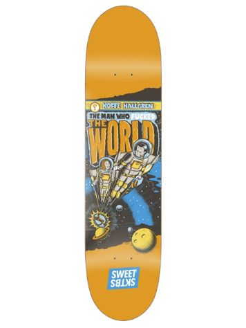 "SWEET SKTBS Spaced Out Hallgren 8.06"" Skateboard Dec"