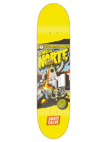 "SWEET SKTBS Spaced Out Pettersson 8.25"" Skateboard D"