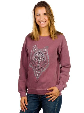 Obey Thunder Wolf Sweater
